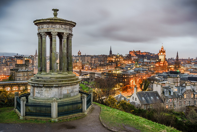View of Edinburgh from Calton Hill | © Giuseppe Milo/Flickr
