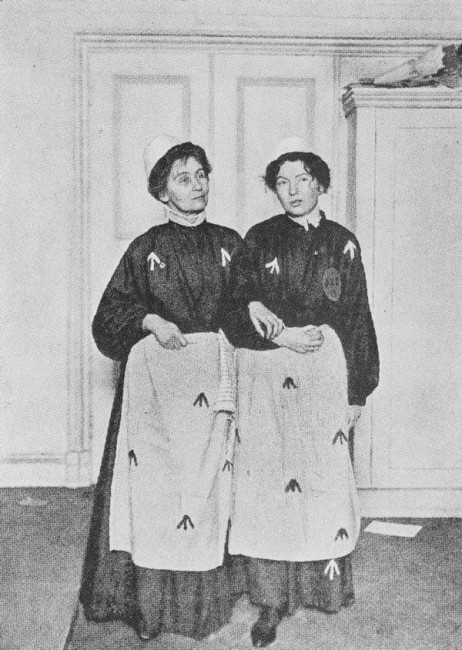 Emmeline and Christabel Pankhurst in Prison | © Scartol / Wikicommons