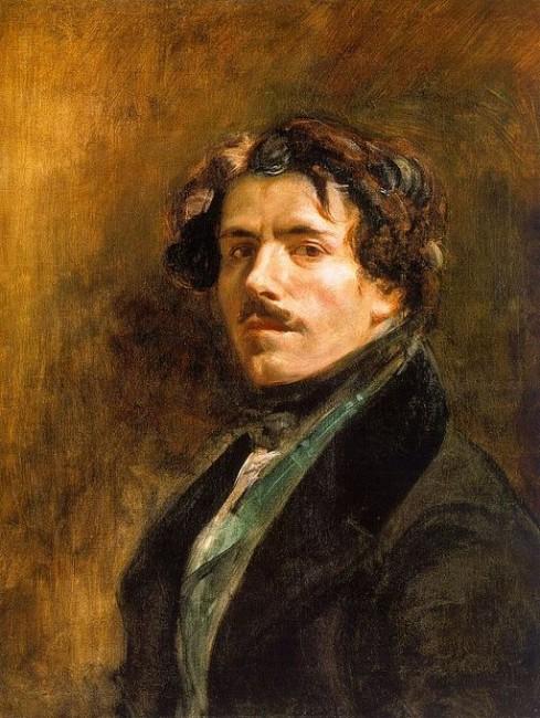 Self Portrait | © Eugène Delacroix [Public domain]/Wikimedia Commons