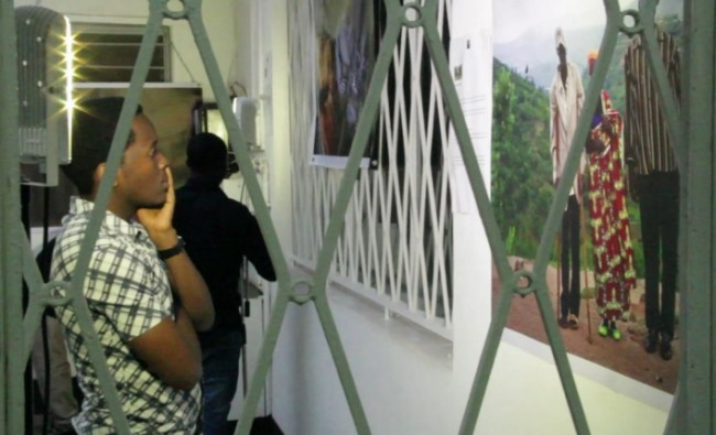 Exhibition at Goethe Institute, Kigali | © Creative Court/Wikicommons