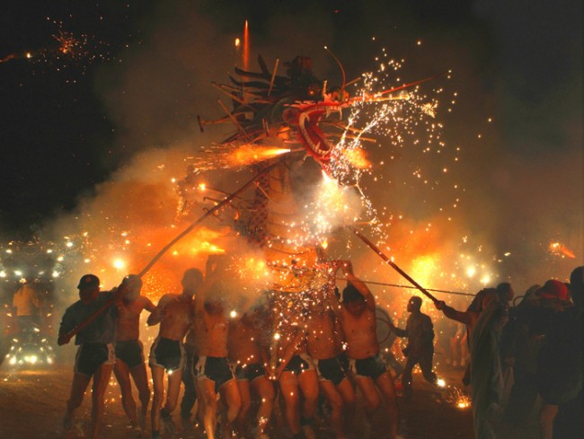 Fire Dragon Dance © wikicommons