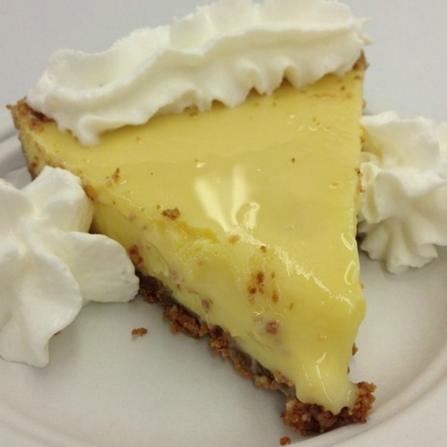 Fireman Derek's key lime pie | Courtesy Fireman Derek's Bake Shop & Café