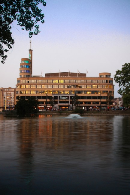 The Flagey Building | Courtesy of www.flagey.be