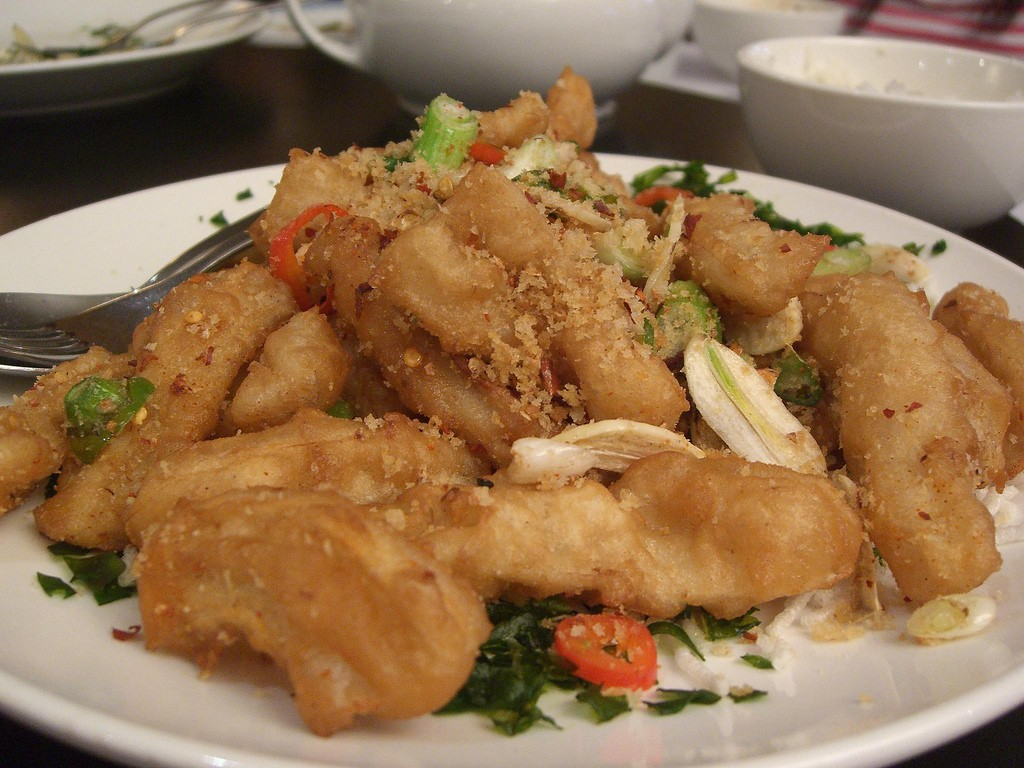 Fried Calamari|©Alpha/Flickr