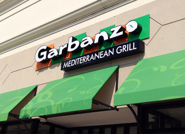 Garbanzo Mediterranean Grill   ©Mike Mozart/Flickr