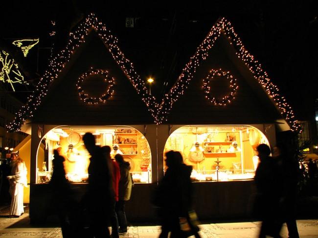 German Christmas market | © CGP Grey/WikiCommons