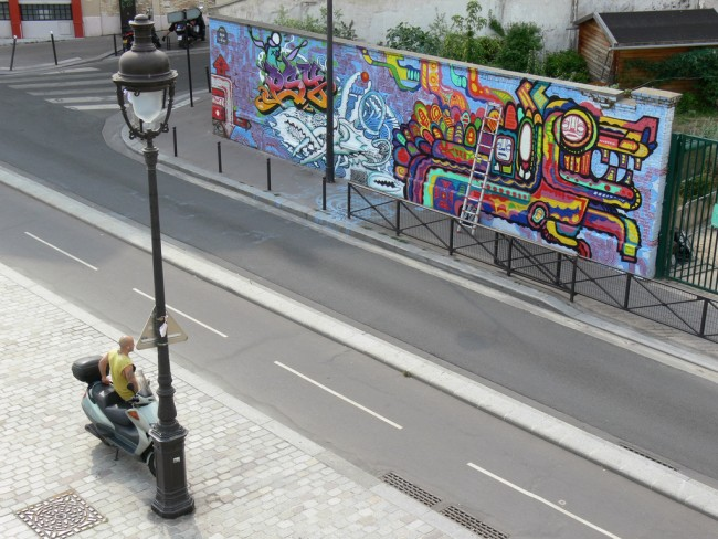 Street art on the Canal | © Manuel/Flickr