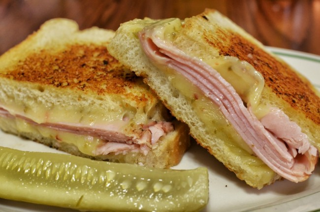 Mmm... back to basics - grilled ham and cheese | © jeffreyw/Flickr