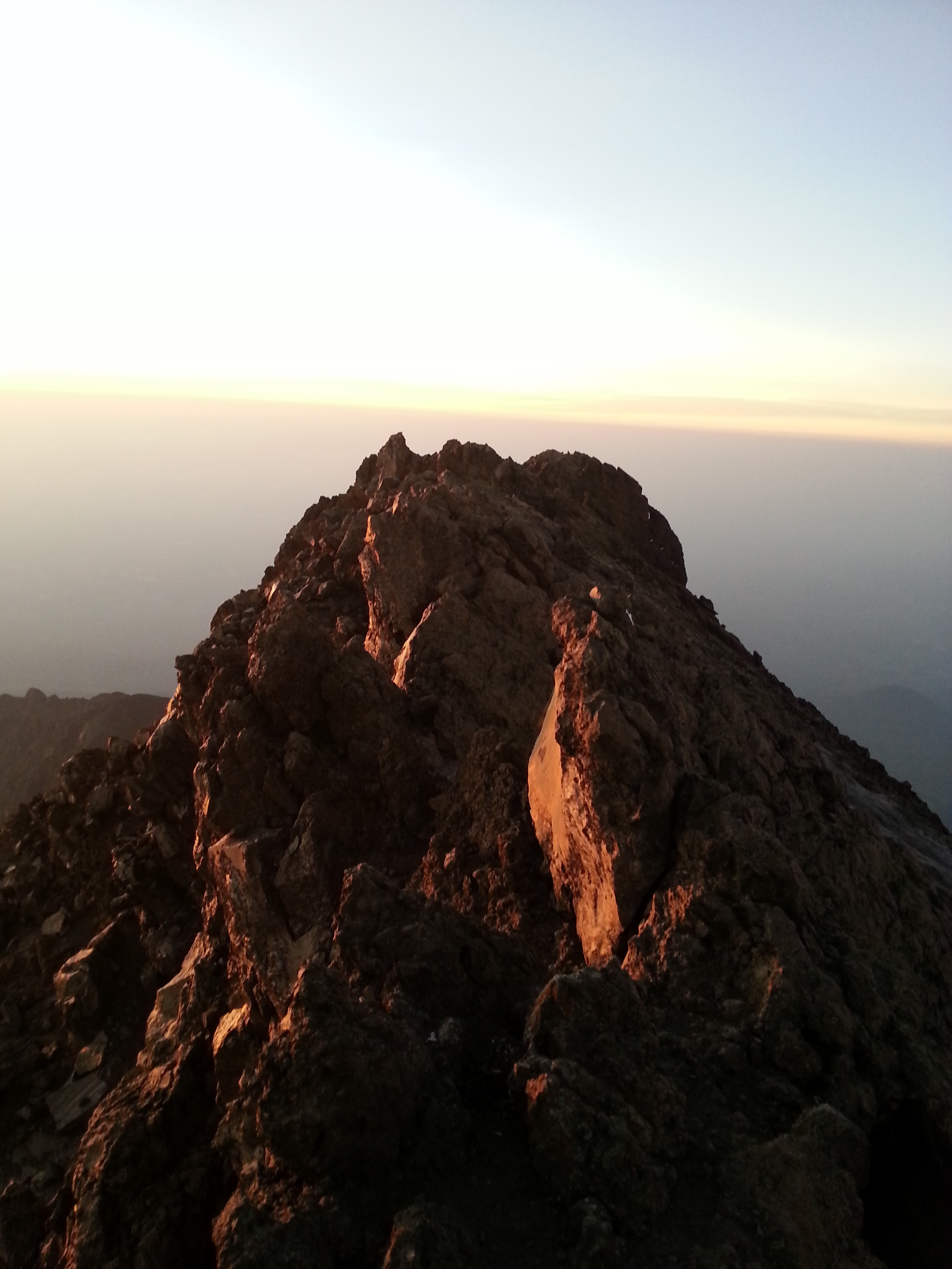 Sunrise at the Summit: Image Courtesy of Shannon Thomson