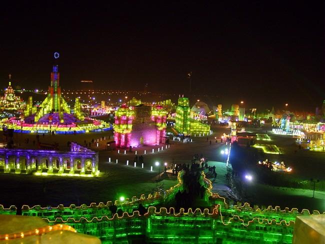 Harbin Ice Festival © wikicommons