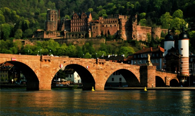 Heidelberg Castle and Bridge | © Rane.abhijeet/WikiCommons
