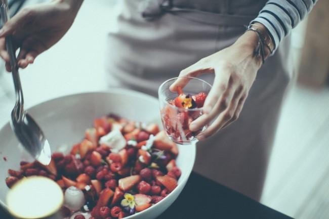 Henri & Agnes apéro of fresh fruits | Courtesy of Henri & Agnes