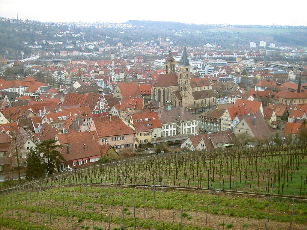 Esslingen am Necker is a city located in Baden-Württemberg, southern Germany | ©XerKibard/WikiCommons