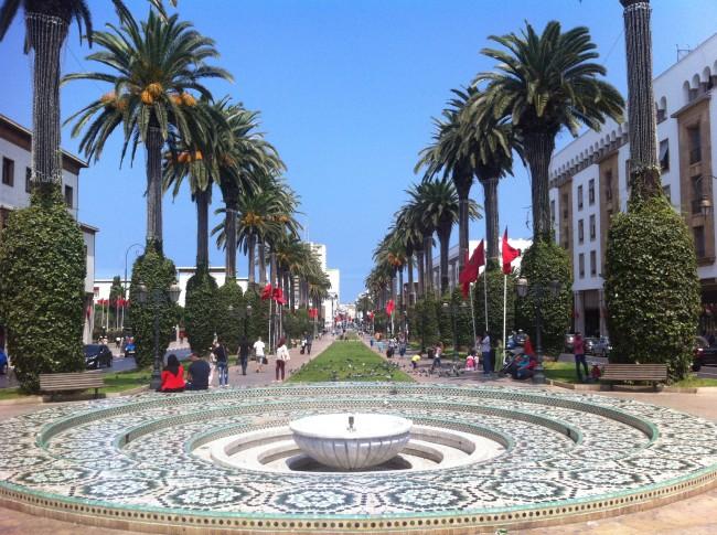 Avenue_Mohammed _V_Rabat | © WikiCommons