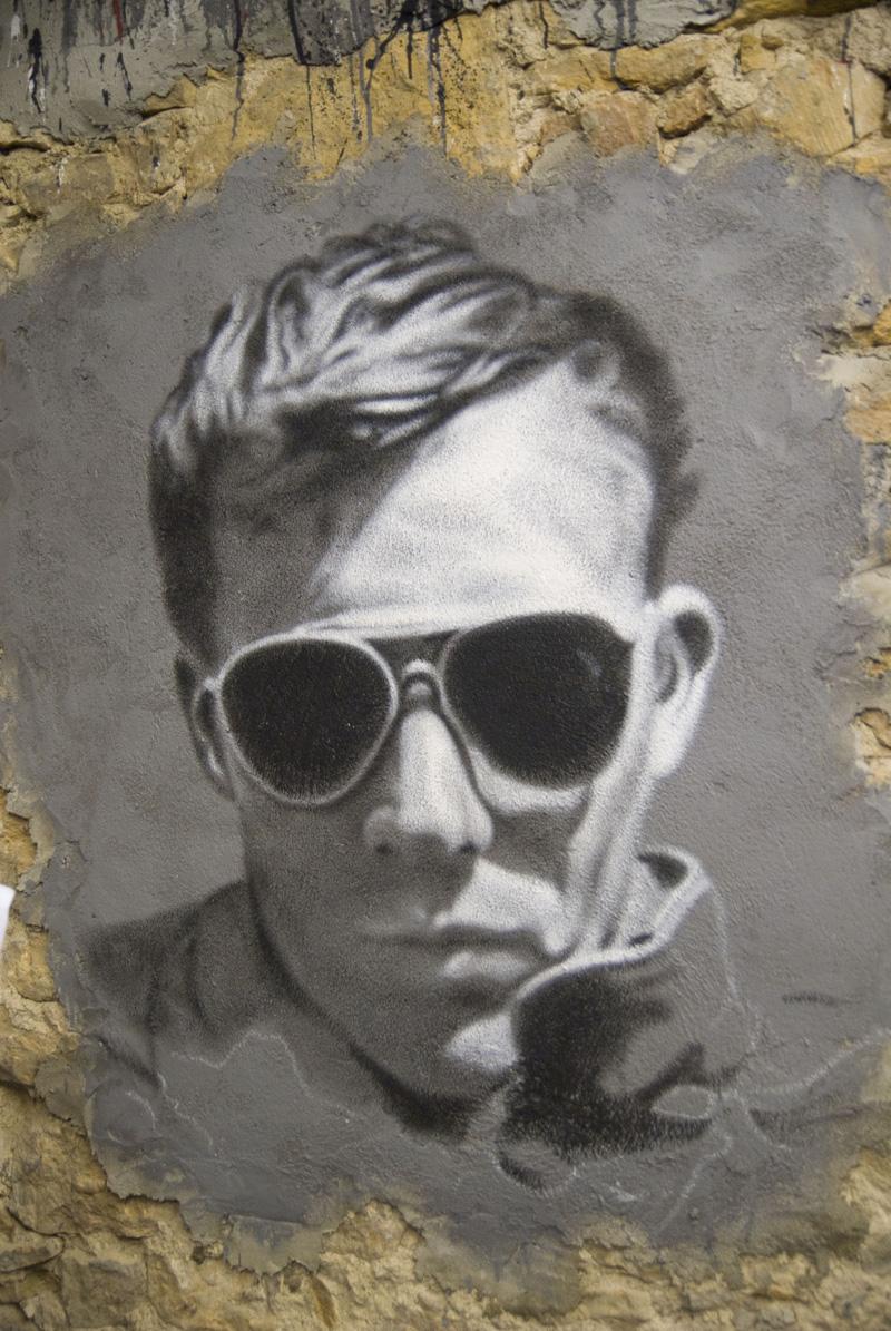 Hunter S. Thompson graffiti 2 | © thierry ehrmann/WikiCommons