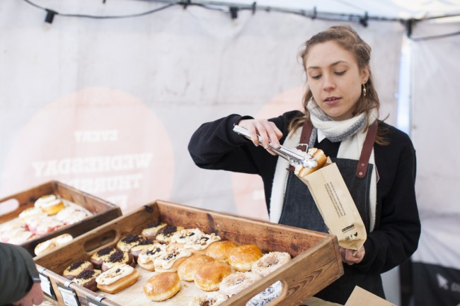 Many delicious delights for you to select from | Courtesy of Real Food Festivals