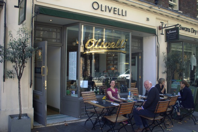 Olivelli | Courtesy of Olivelli Restaurant