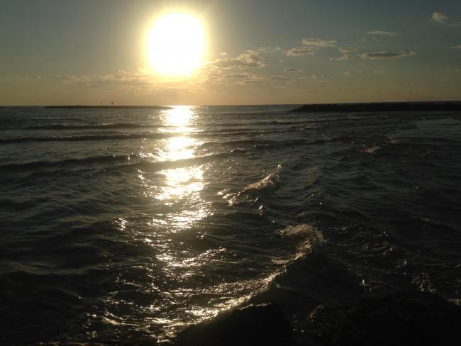 Mediterranean Sea, courtesy of Sharon Brand