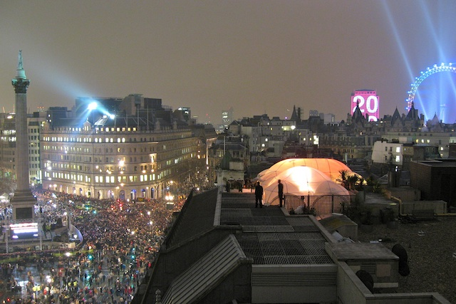 New Year's Eve Fireworks, London © Chris Skitch/Flickr