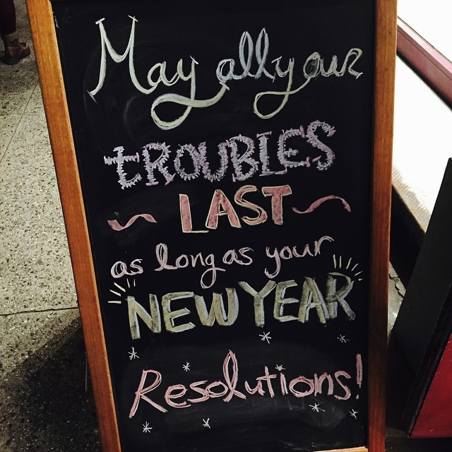 Resolution (Saw This Recently) © Flickr