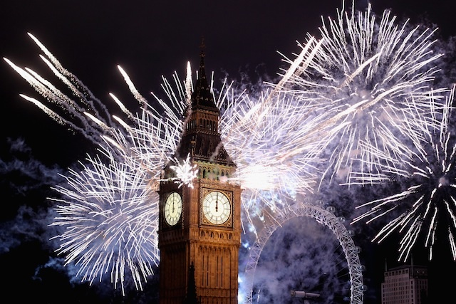 2012 New Year Fireworks © Dan Atwood/Flickr