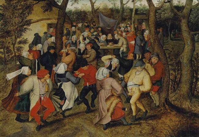 Pieter Brueghel the Younger, The Wedding Dance, 1625   © Pieter Brueghel the Younger/WikiCommons