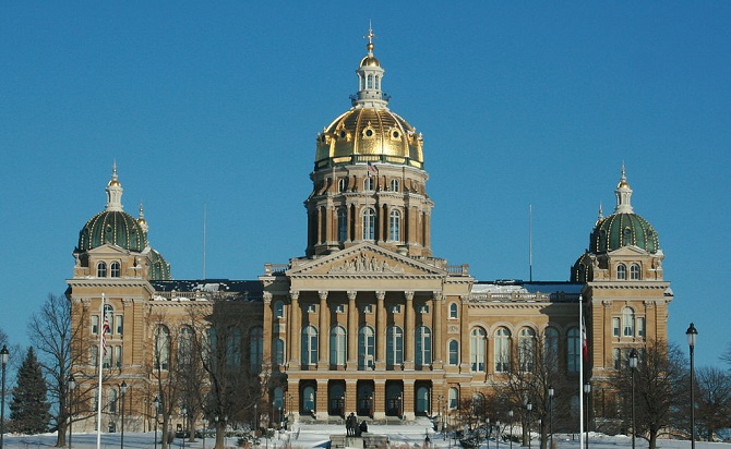 Iowa State Capitol | © Ashton B Crew/Wikimedia Commons