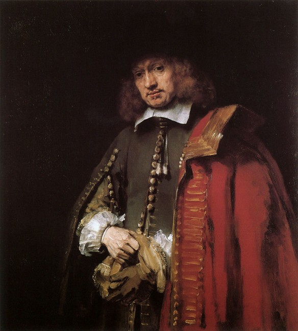 Rembrandt, Portrait of Jan Six, 1654 | © Rembrandt/WikiCommons