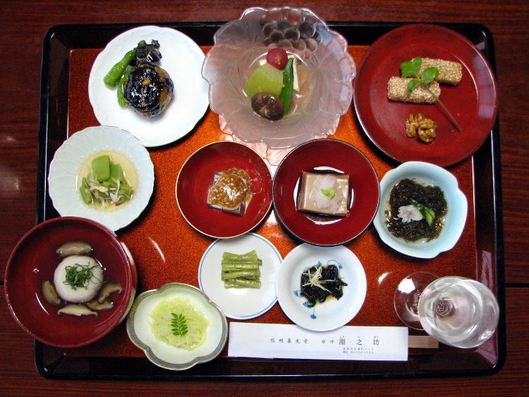 Japanese Temple vegetarian dinner | © Chris 73/WikiCommons