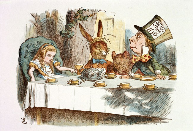 The Nursery Alice by John Tenniel © British Library / WikiCommons