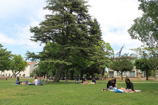 People Enjoying Jourdan Park | ©Connie Ma/Flickr