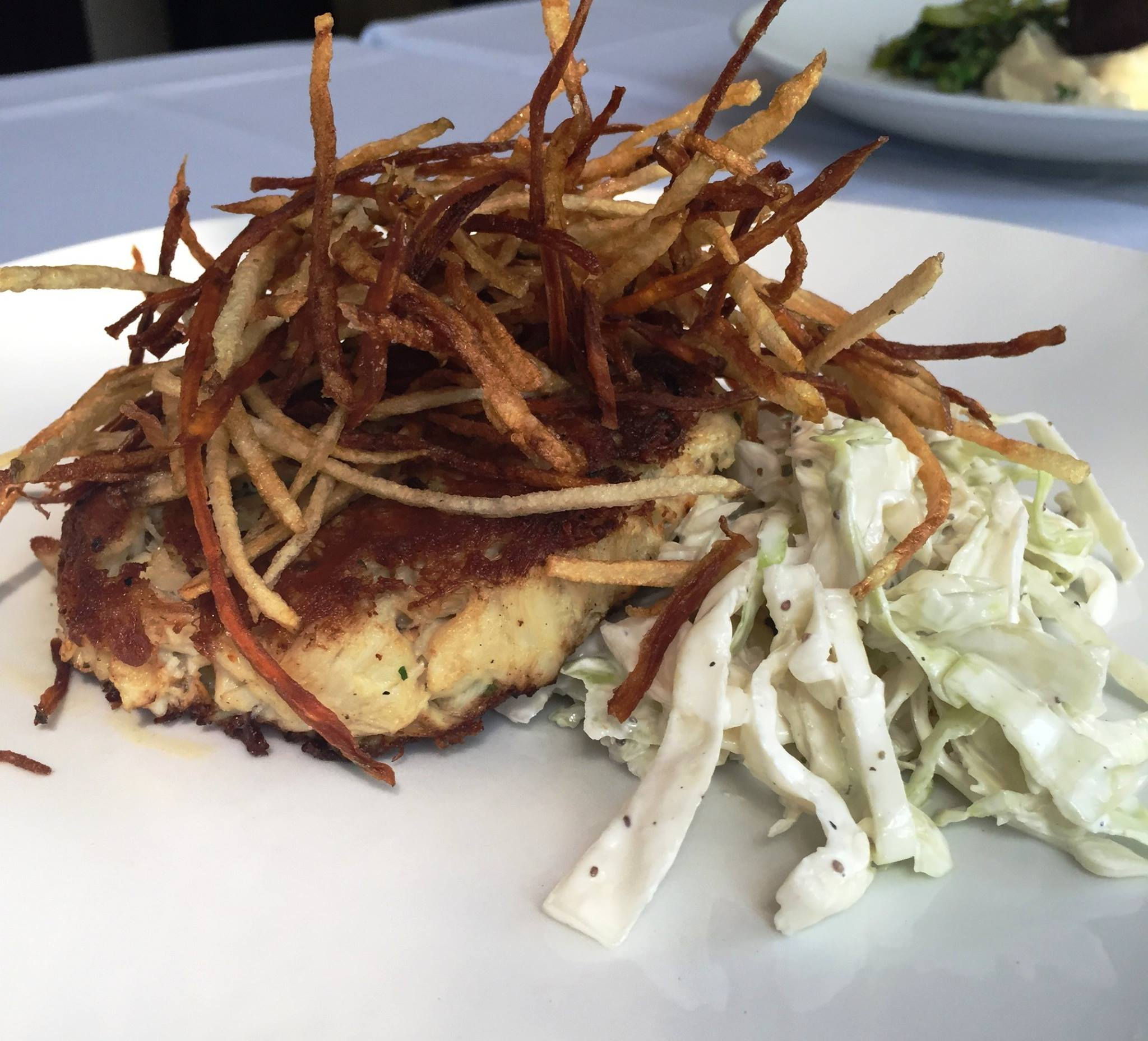 Pan seared jumbo lump crab cake | Courtesy of Julep's New Southern Cuisine