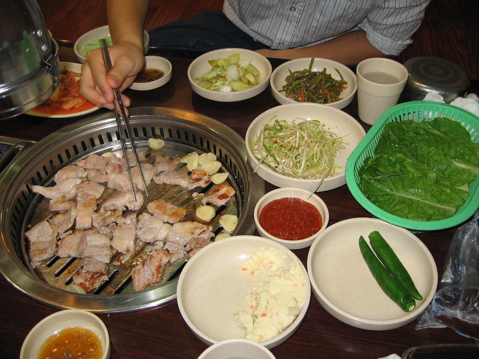 Korean Fast Food Seafood