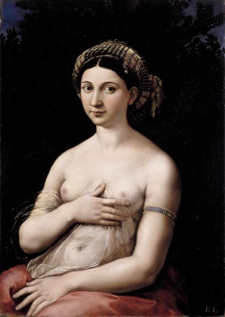 Raphael, La Fornarina, circa 1519 | © Raphael/WikiCommons