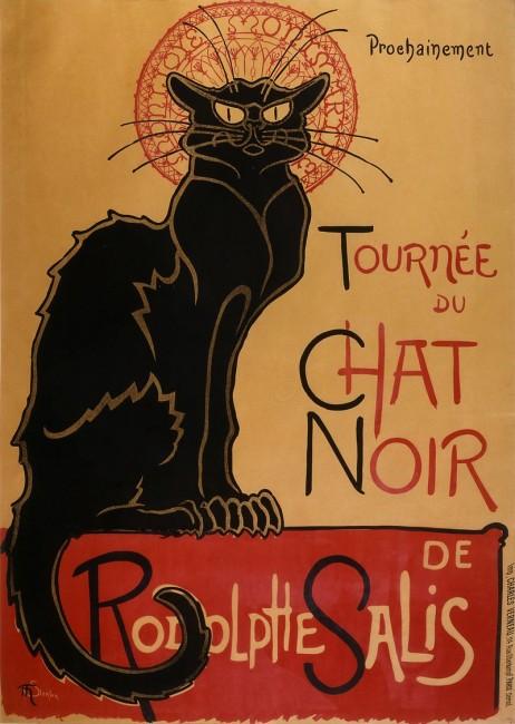 Le Chat Noir, Théophile Steinlen