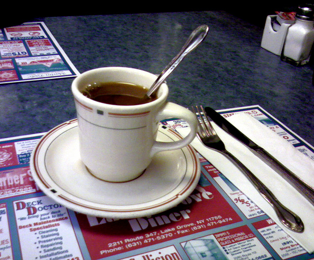Diner Coffee | ©gisele13/Flickr