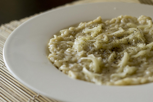 Risotto with Cheese and Pepper | ©Luca Nebuloni/Flickr