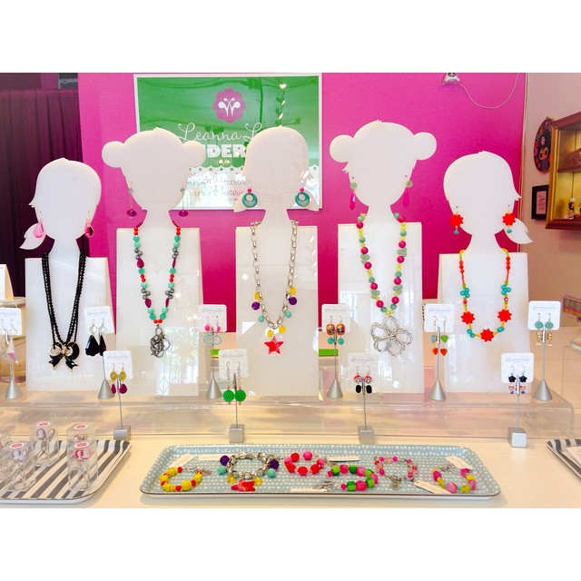 Jewerly in Leanna Lin's Wonderland. Photo courtesy of Leanna Lin.