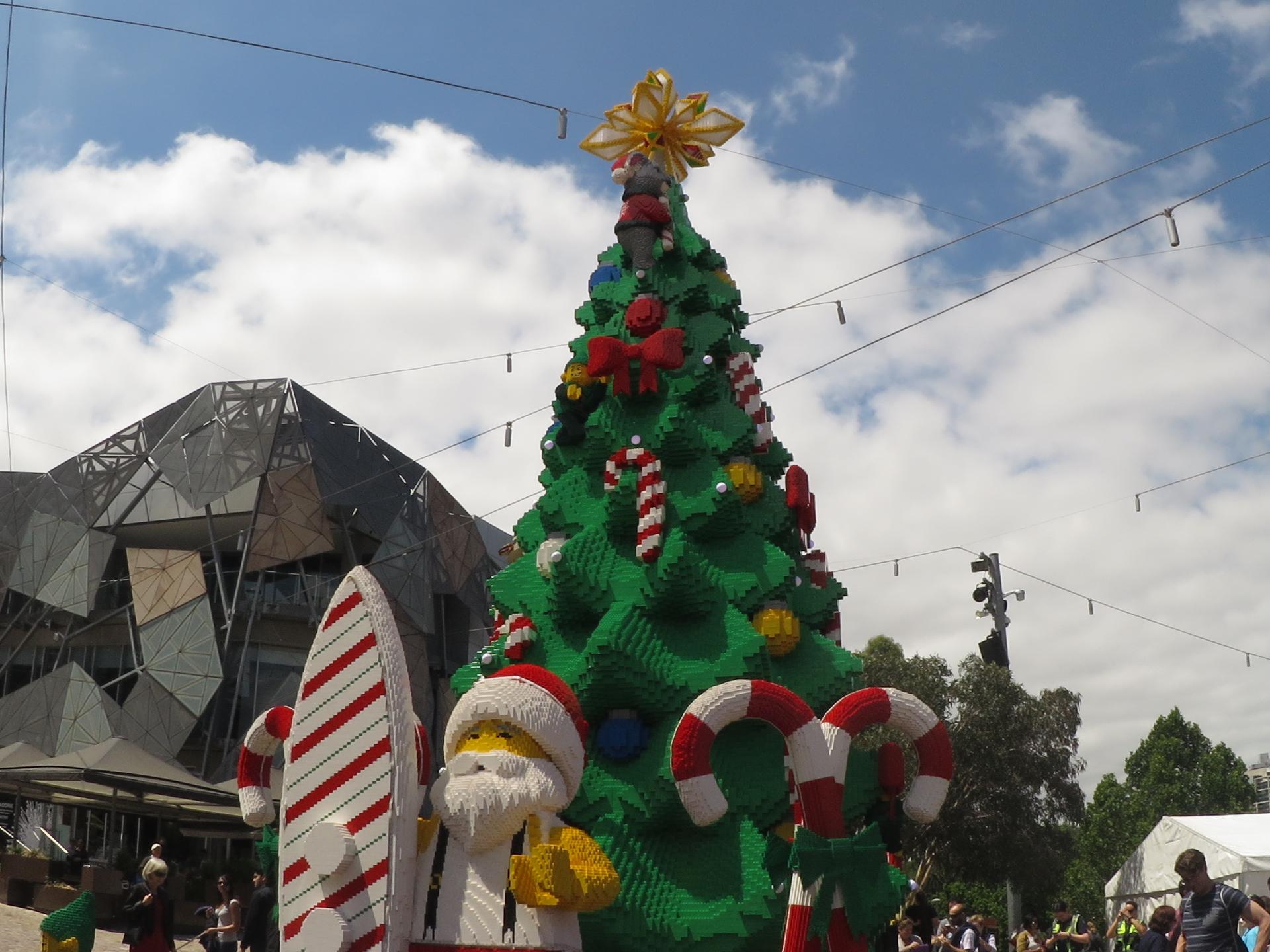 Lego Christmas Tree ©Erin Leeder