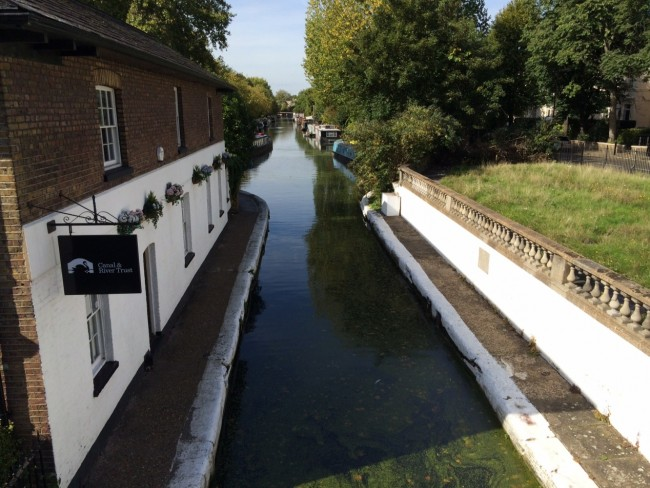 Welcome Station at Little Venice l Courtesy of Canal & River Trust