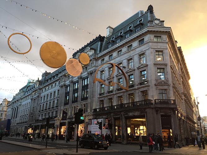 Regent Street | ©LondonMatt/Flickr