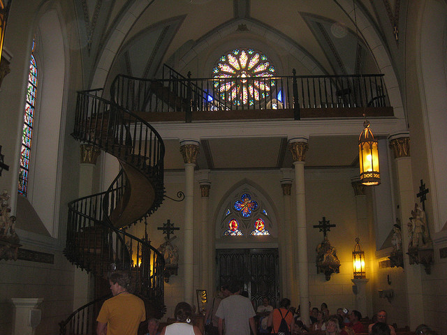 Loretto Chapel 'Magnificent Staircase' | ©Tim Menzies/Flickr