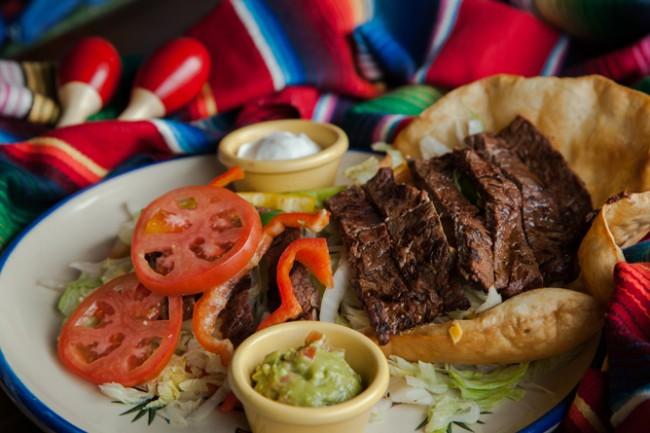 Fajita sala | Courtesy of La Corona Mexican Restaurant