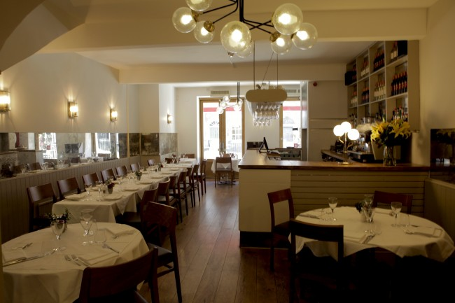 Sardo Restaurant interior | Courtesy of Sardo Restaurant
