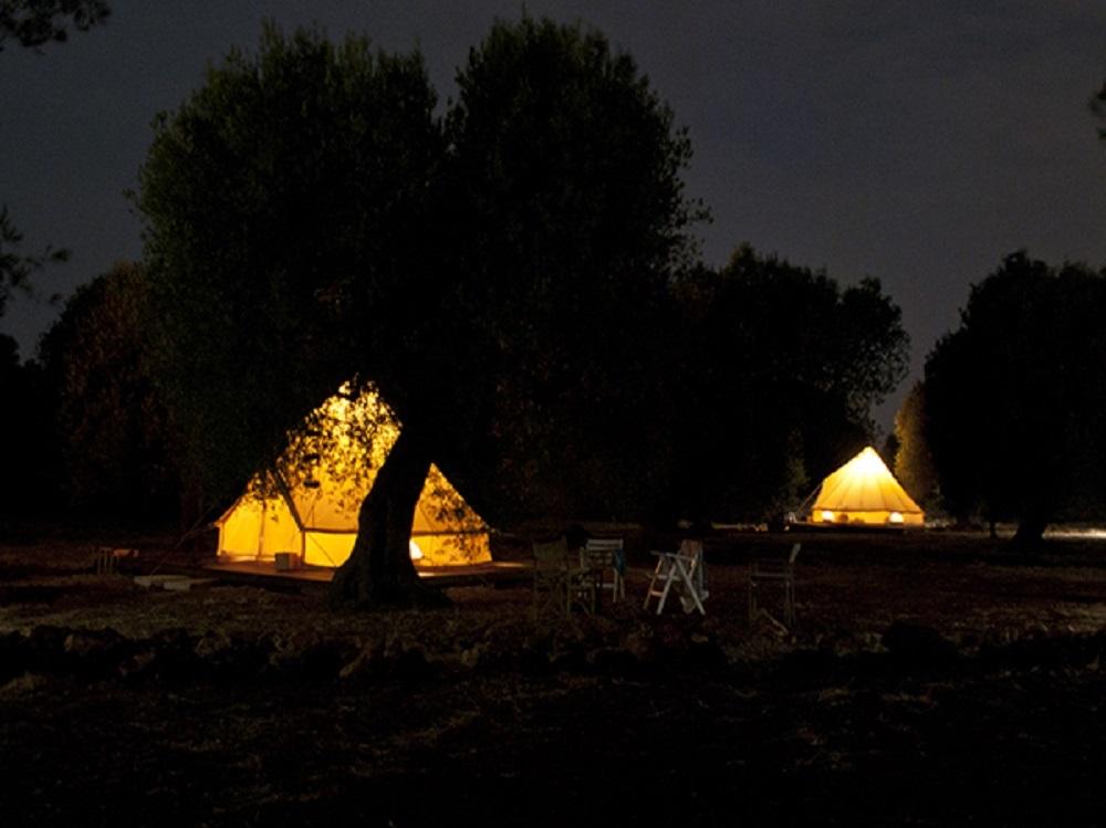 Campsite, Alliste | Courtesy of Macaria Accampamento Rurale