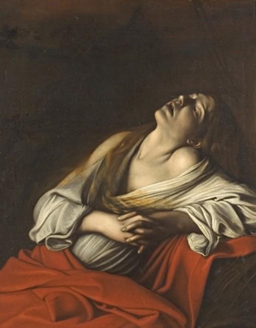 Caravaggio, Mary Magdalene in Ecstasy, 1606 | © Caravaggio/WikiCommons