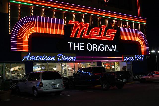 Mel's Diner © Nick Ares_Flickr