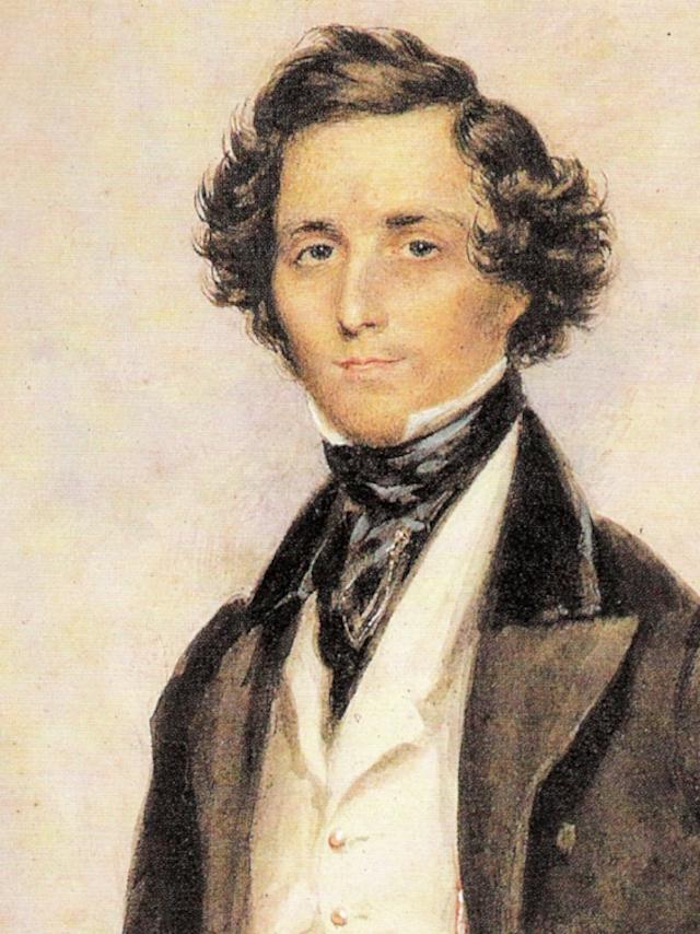Felix Mendelssohn   © James Warren Childe/WikiCommons