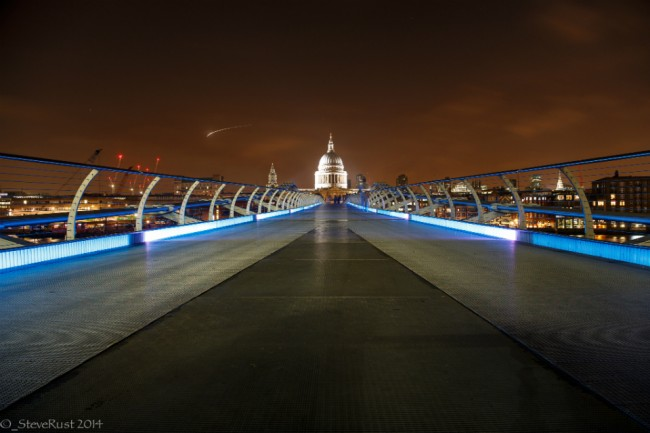 Millennium Bridge © Steve Rust/Flickr