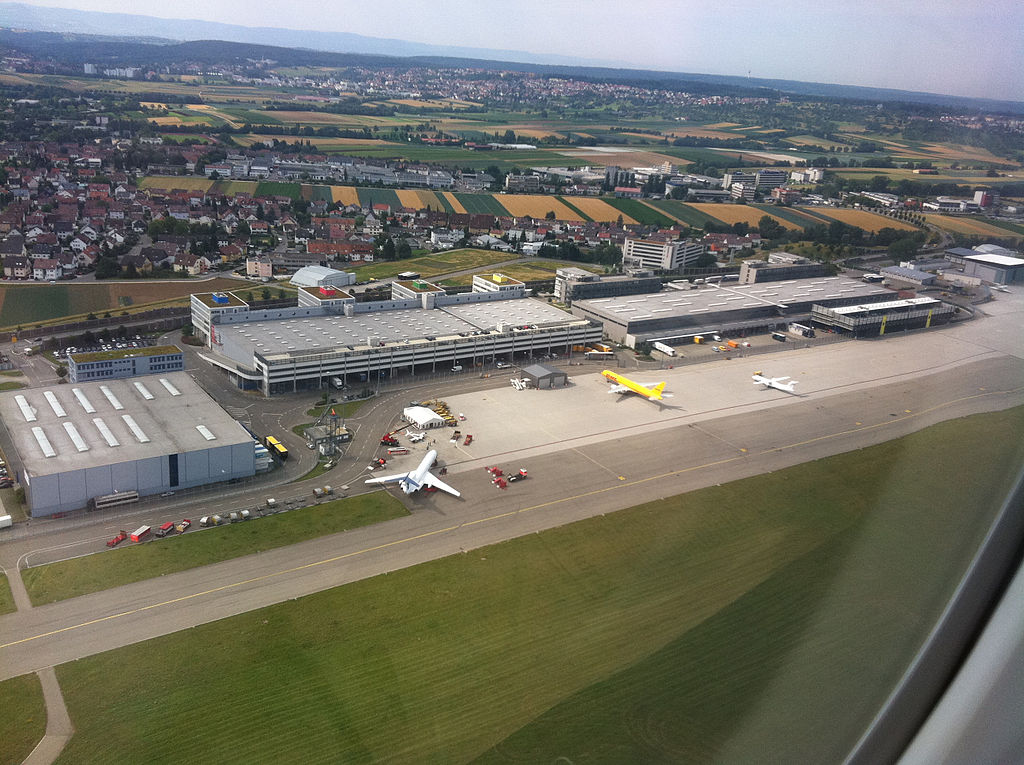 Luftfrachtzentrum Flughafen Stuttgart | ©Andrew Nash/WikiCommons